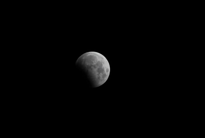 Lunar eclipse taken from Ashcroft Observatory by Brent Sorensen