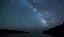 Perseid Meteor Shower SUSF Three Peaks