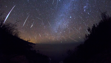 Orionid Meteor Shower at Three Peaks by SUSF