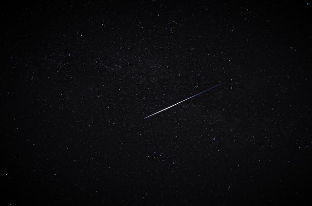Perseid Meteor 2010 by Jennifer Ova