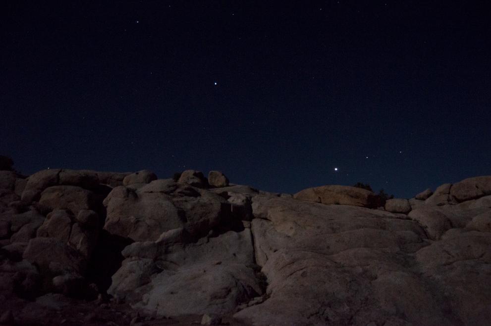 Jupiter's Eye Taken at Three Peaks by Leesa Ricci 2015