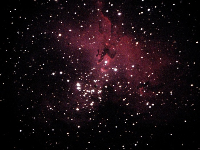 The Eagle Nebula taken at MDRS by Randy Dunning and Chad Weaver