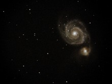 The Whirlpool Galaxy taken at MDRS by Randy Dunning and Chad Weaver