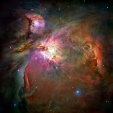 Hubble Picture of Orions Nebula