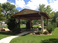 East Canyon Park pavilion