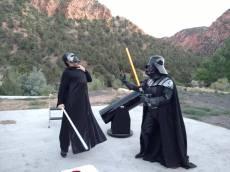 Darth Vader pwns Kylo